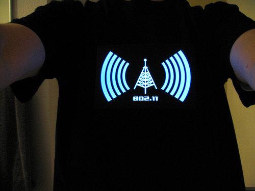 Light up T Shirts