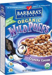 Barbara's Bakery Crunchy Cocoa Wild Puffs