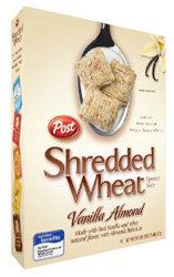 Post Vanilla Almond Shredded Wheat