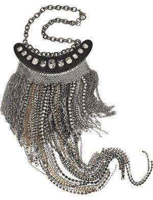 Multi-chain Bib Necklace