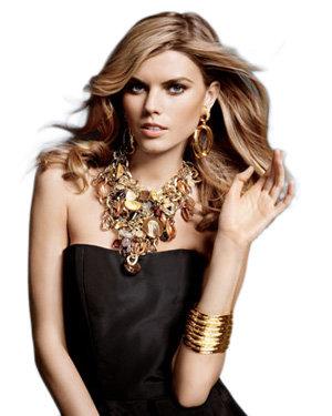 Oscar De La Renta Gold & Shell Necklace