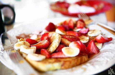 Raspberry Jam Toastie