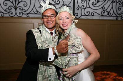 Wedding Money Dance Dollar
