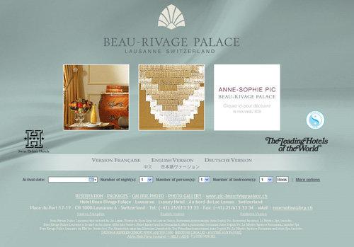 Beau Rivage Palace, Switzerland