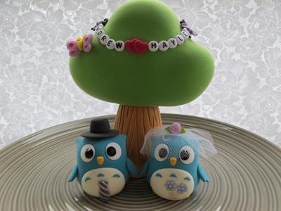Sweet Owl Cake Topper...