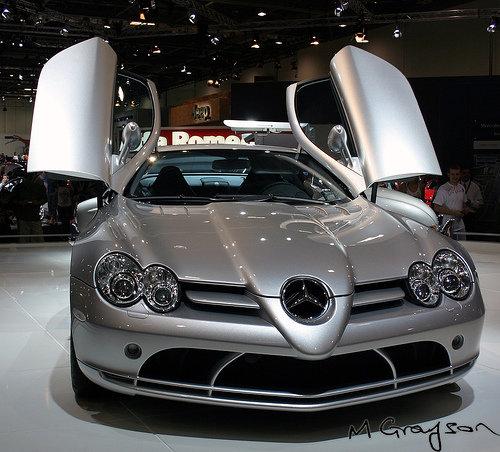 Best Exotic Sports Car: 6. Mercedes-Benz SLR McLaren