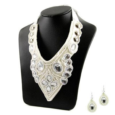 Gift Set: Syd's Bib Necklace & Earring Set