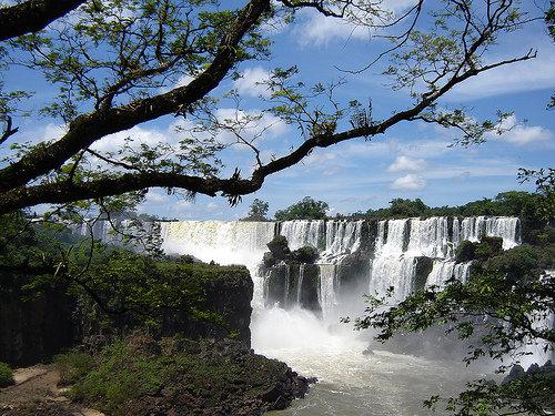 The Iguazu Waterfalls, Argentina-Brazil Border