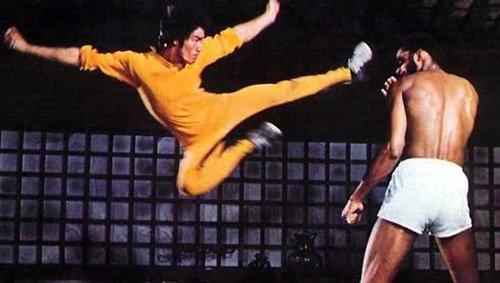 "Bruce Lee Vs. Kareem Abdul-Jabbar in ""Game of Death"""