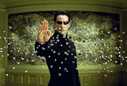"""Neo Vs. Agent Smith in """"the Matrix"""""""