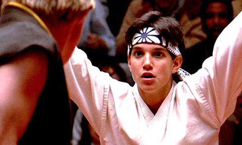 """The Karate Kid Vs. Johnny in """"the Karate Kid"""""""