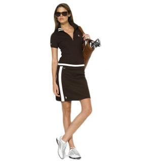 Ralph Lauren Golf Morgan Stretch Half-Zip Polo