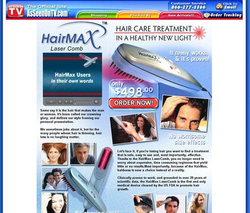 HairMax Laser Comb