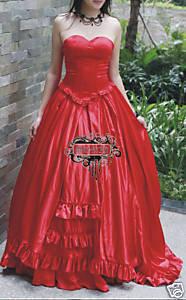 Satin Corset Dress