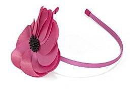 Natasha Accessories Satin-Flower Headband