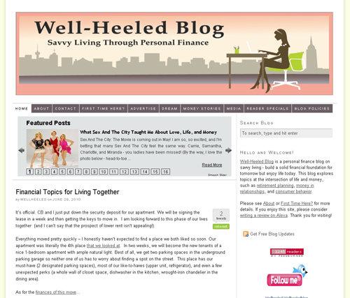 Well Heeled Blog