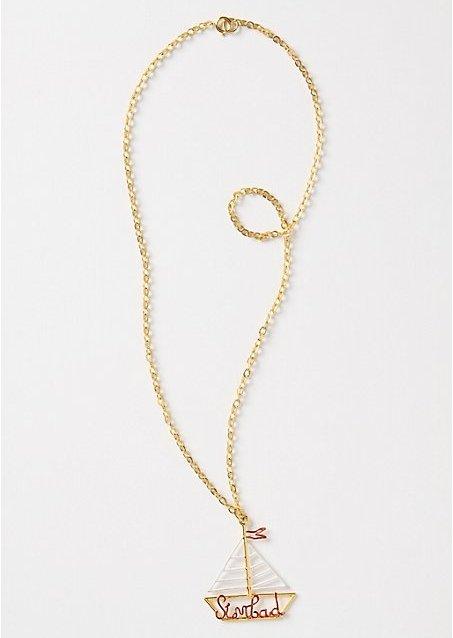 "Rafia and Bosa ""Gallant Voyager"" Necklace"