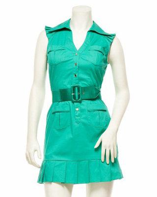2b Sleeveless Cotton Dress