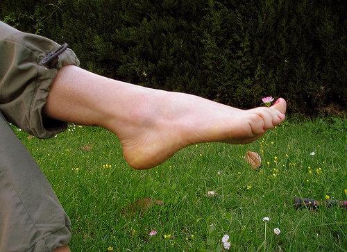 Go Barefoot