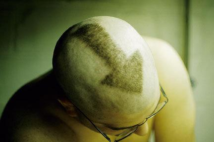 Shaved Head Art