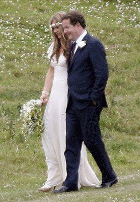 An Easy Going English Wedding...