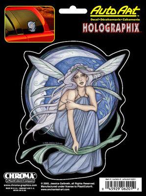 """La Bella Luna (Jessica Galbreth) 6"""" X 8"""" Decal – Holographic"""