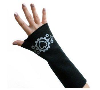 Hearts & Gears Arm Warmers