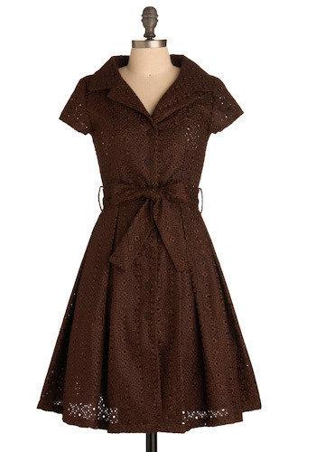 Signature Dark Dress