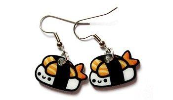 Happy Sushi Earrings