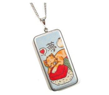 Kitten & Sushi Necklace