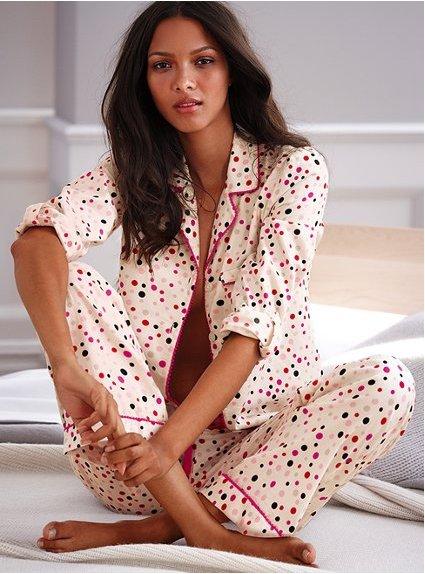 Victoria's Secret the Dreamer Flannel Pajama