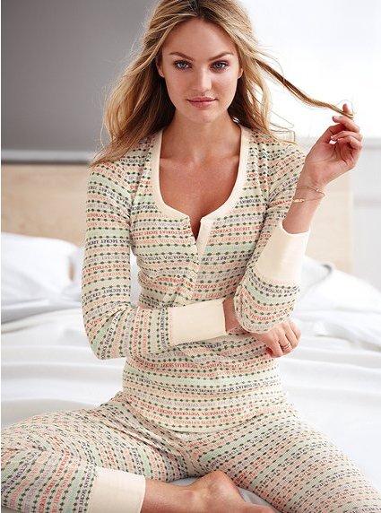 Victorias Secret The Fireside Long Jane Pajama 7 Cute