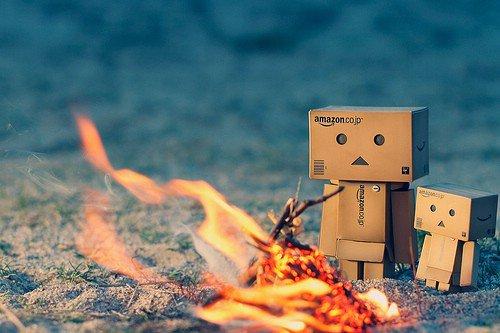 Over a Campfire