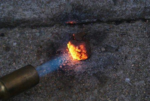 Use a Blowtorch