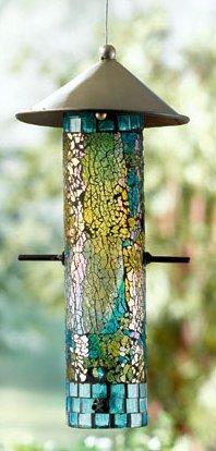 Mosaic Bird Feeder