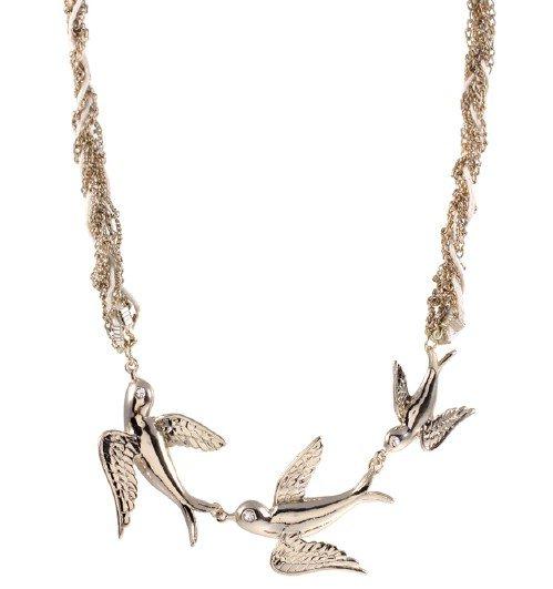 ASOS Flying Bird Necklace
