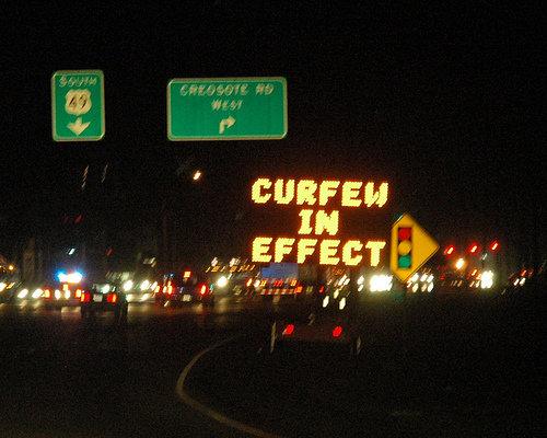 Obeys Curfew
