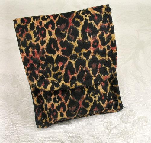 Leopard Print Mini Wallet