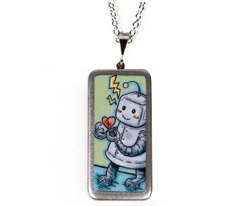 Happy Robot Necklace