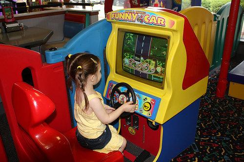 Chucky Cheese or Arcade