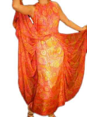 Mollie Parnis Maxi Dress