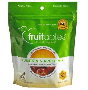 Fruitables All-Natural Pumpkin and Apple Dog Treats