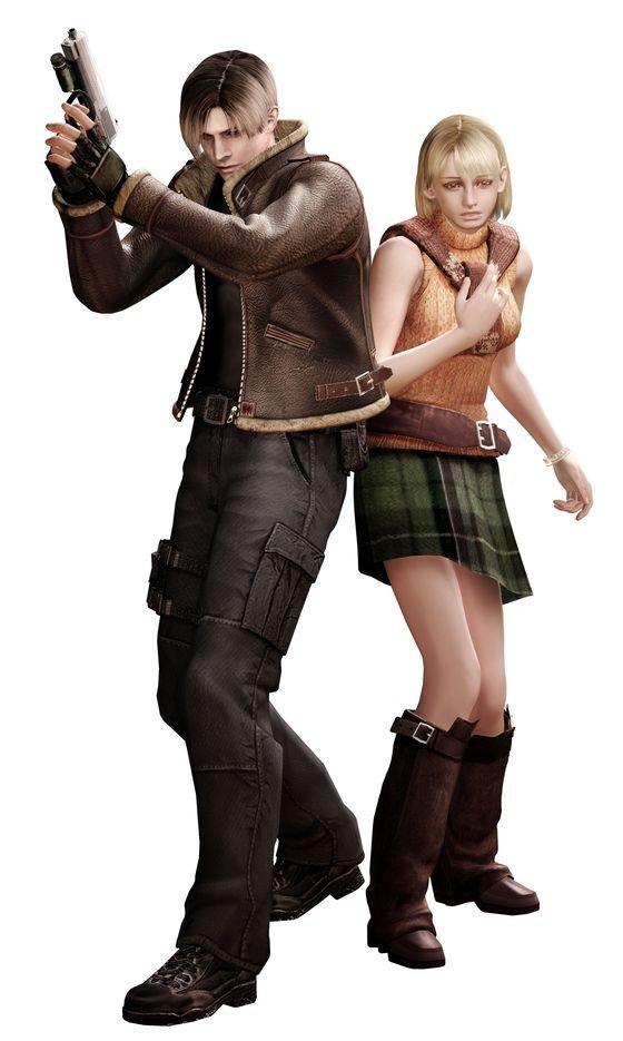 Ashley from Resident Evil 4