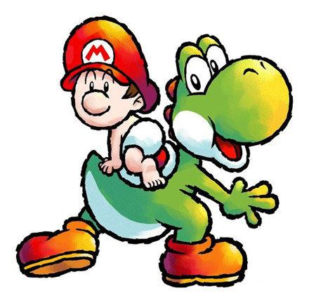 Baby Mario from Yoshi's Island