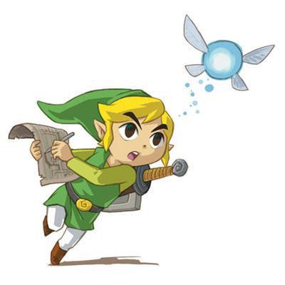 Navi from the Legend of Zelda