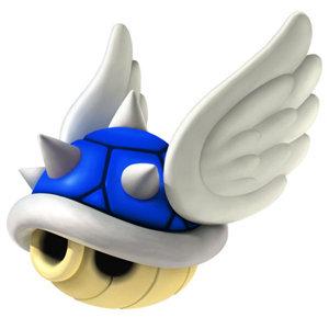 Blue Shell from Mario Kart