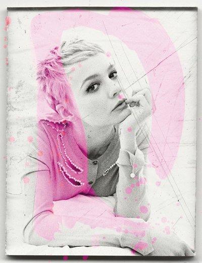 B/W/Pink