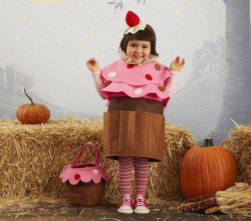 Pottery Barn Kids Cupcake Costume