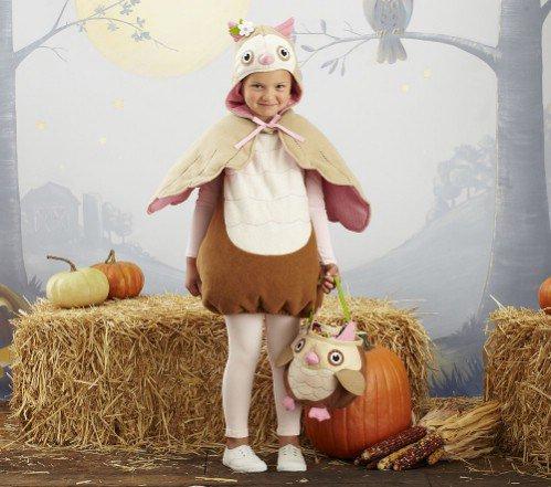 Pottery Barn Kids Owl Costume