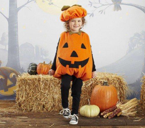 Pottery Barn Kids Pumpkin Costume  sc 1 st  All womenu0027s talk & Pottery Barn Kids Pumpkin Costume - 7 Adorable Halloween Costumesu2026